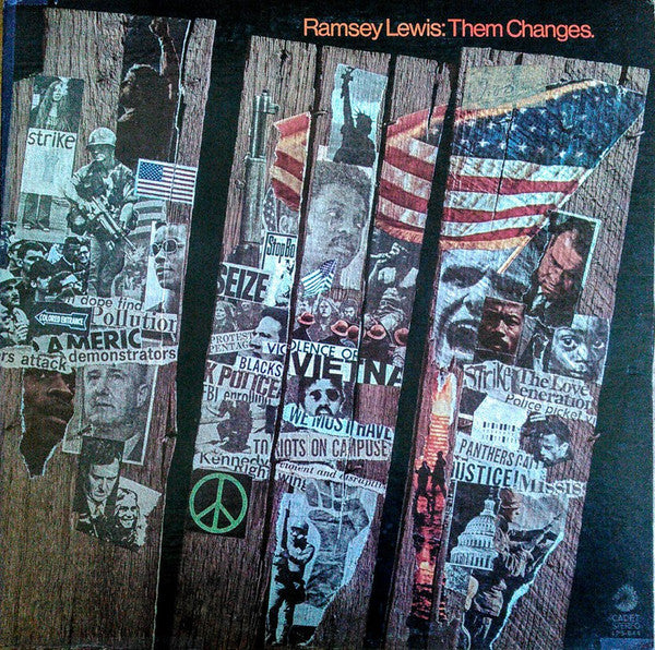 Ramsey Lewis ‎– Them Changes - Soul-Jazz, Jazz-Funk - 1970 (Clearnce Vinyl)