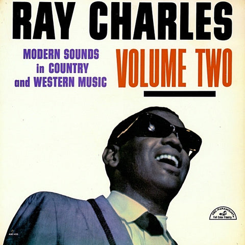 Ray Charles ‎– Modern Sounds In Country And Western Music Volume Two -1962 (U.S. Vinyl) Clearance