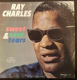 Ray Charles ‎– Sweet & Sour Tears -1964- Funk / Soul, Folk, (Rare Vinyl) stamped off center label