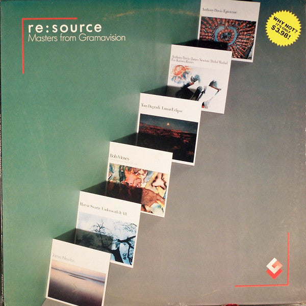 Re:Source, Masters From Gramavision -1982- Jazz Rock (vinyl)