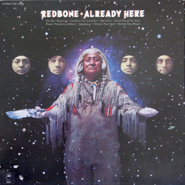 Redbone ‎– Already Here -1972-  Blues Rock, Classic Rock (Vinyl)