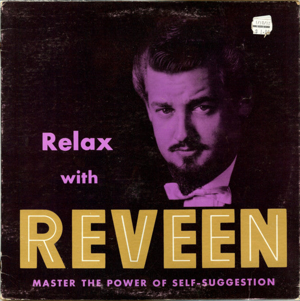 Reveen ‎– Relax With Reveen -1978- Non Music Therapy (vinyl)