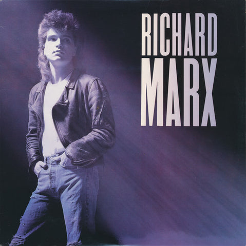 Richard Marx ‎– Richard Marx - 1987-  Soft Rock, Pop Rock (vinyl) Mint w/ sleeve