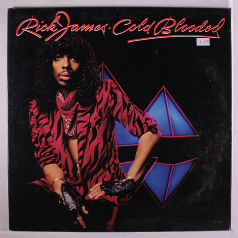 Rick James ‎– Cold Blooded -1983 - Soul, Funk (vinyl)