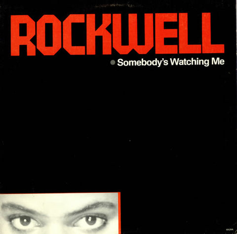 Rockwell - Somebody's Watching Me -1984- Synth-pop (vinyl )