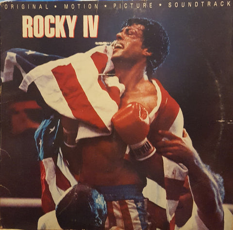 Rocky IV (Original Motion Picture Soundtrack) 1985 Soundtrack, Pop Rock, Synth-pop, Soul, (vinyl)
