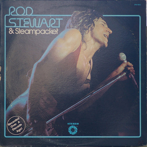 Rod Stewart & Steampacket ‎– Rod Stewart & Steampacket - 1977- Rock, Blues (vinyl)