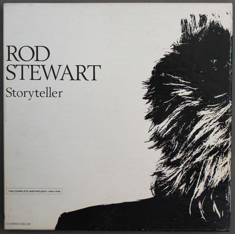 Rod Stewart ‎– Storyteller - The Complete Anthology: 1964 - 1990 -4 CD SET) 1989-Rock, Blues, Pop ( clearance ) only 3 CDS IN THE SET