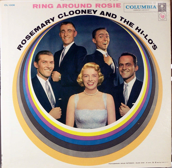 Rosemary Clooney And The Hi-Lo's ‎– Ring Around Rosie - 1957 -  Vocal, Swing, Cool Jazz (vinyl)