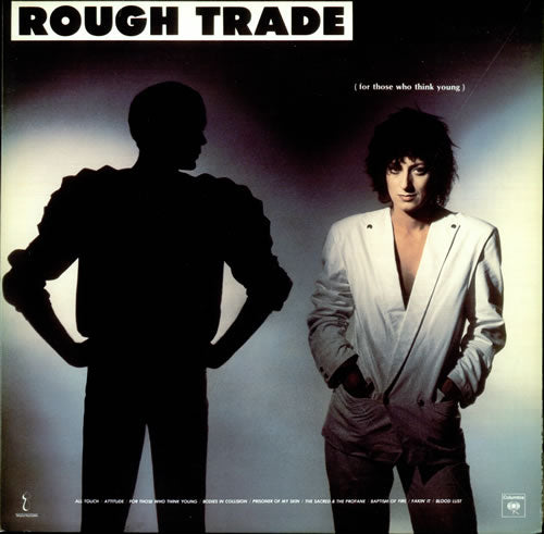 Rough Trade - For Those That Think Young -1981 New Wave, Synth-pop (vinyl)