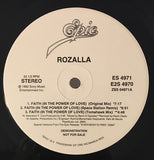 Rozalla ‎– Faith (In The Power Of Love) -1992-  Electronic-Euro House (2 lp) Promo Vinyl