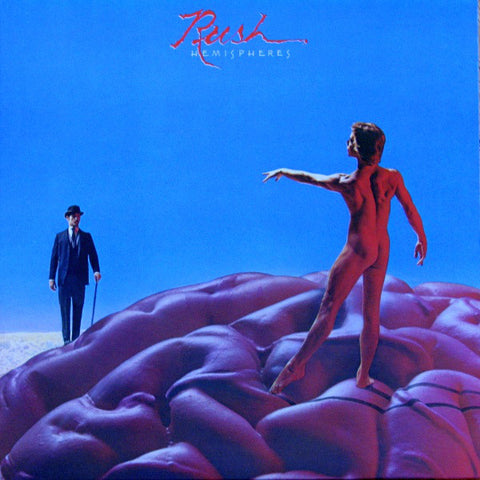 Rush ‎– Hemispheres 1978 Prog Rock (vinyl) near mint