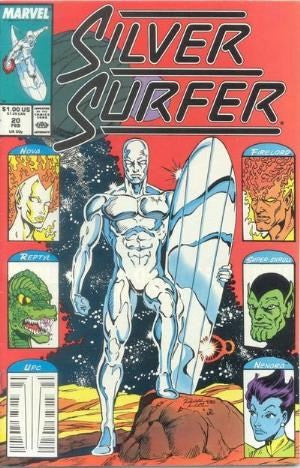 SILVER SURFER #20