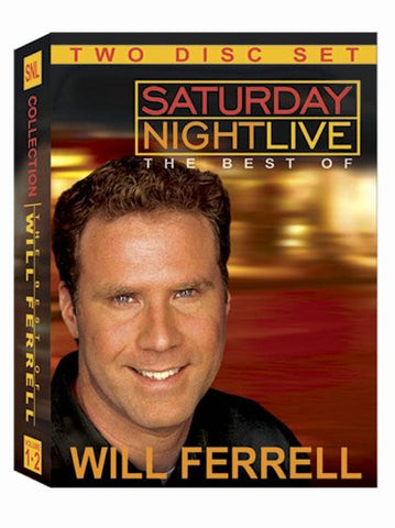 SNL: Saturday Night Live - The Best of Will Ferrell - 2 dvd set - mint used