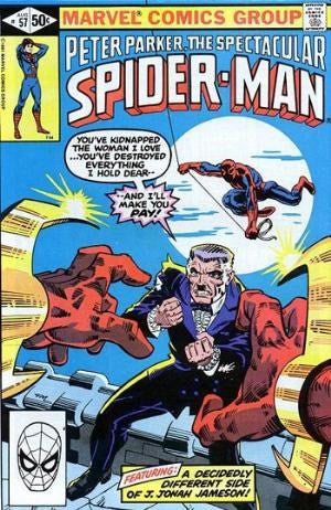 SPECTACULAR SPIDER-MAN #57
