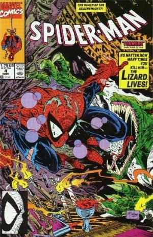 SPIDER-MAN # 4 - the Death of The Arachknight !