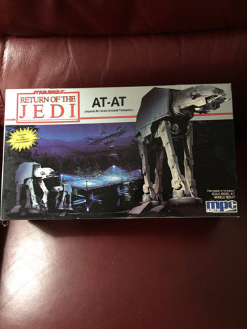 "Star Wars ""AT-AT"" Model by MPC ERTL - Return of the JedI - 1989"