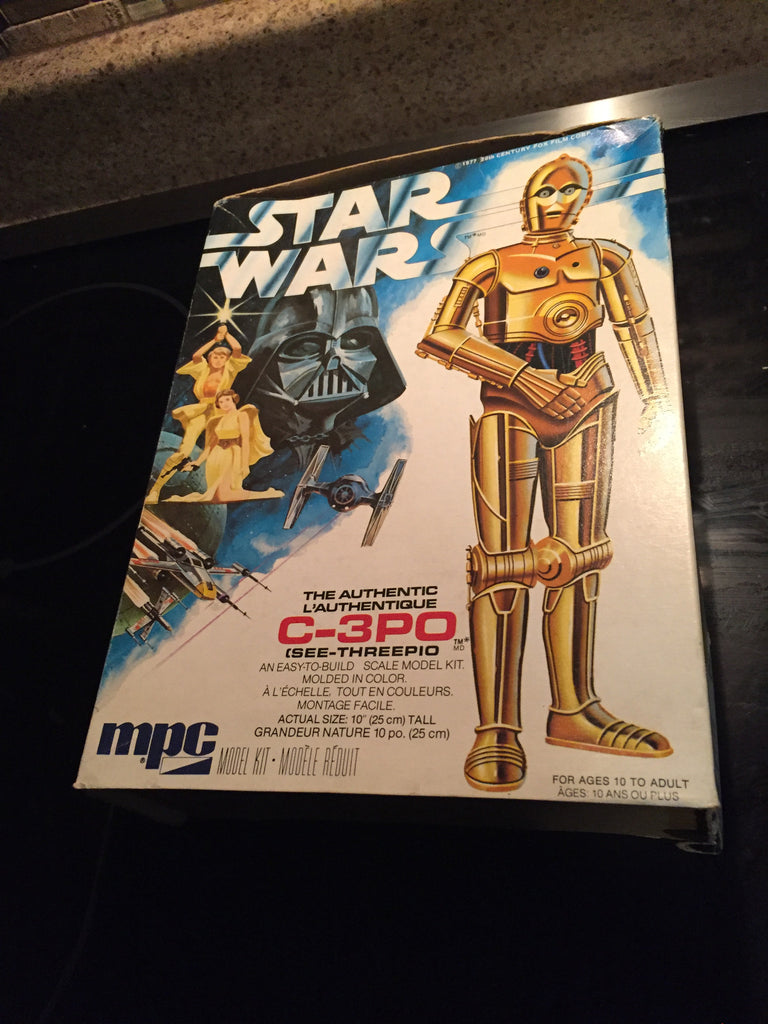 MPC Star Wars C-3PO See-Threepio Plastic Model Kit, Scale 1/6