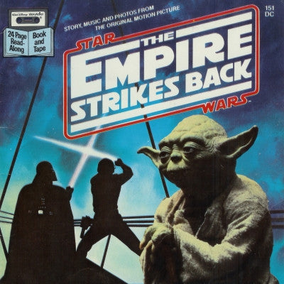 1983 STAR WARS STORY BOOK - THE EMPIRE STRIKES BACK