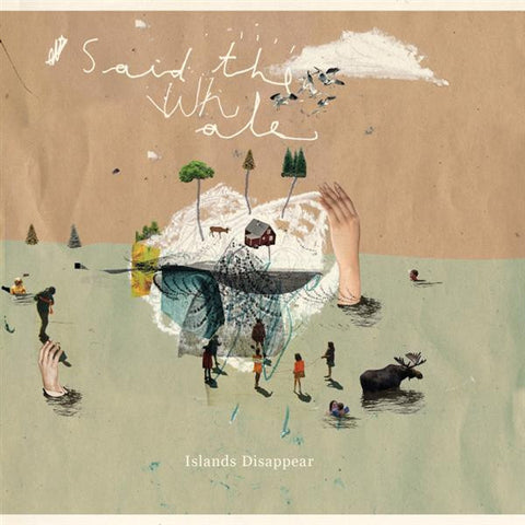 Said The Whale ‎– Islands Disappear ( 2009 ) Indie Rock (vinyl)