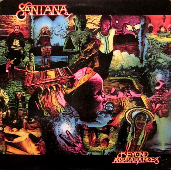 Santana ‎– Beyond Appearances - 1985- Blues Rock (vinyl)