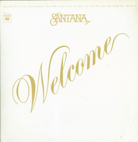 Santana ‎– Welcome -1973 Jazz-Rock, Latin Jazz (vinyl)