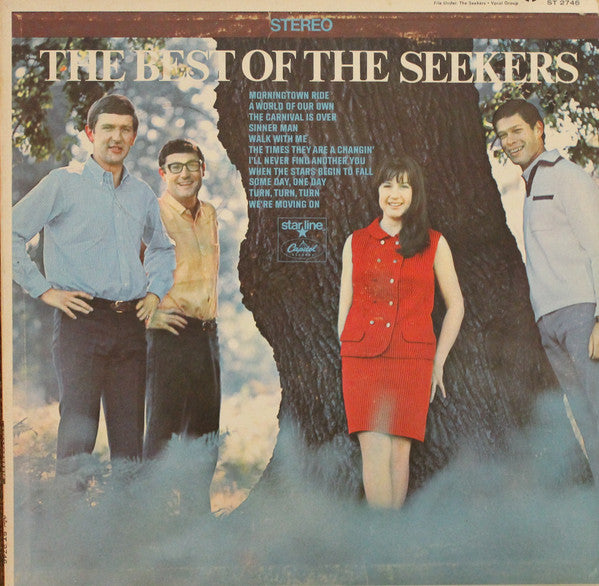 Seekers ‎– The Best Of The Seekers -1968 Ballad, Folk (Rare Vinyl)