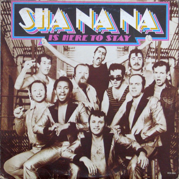 Sha Na Na ‎– Sha Na Na Is Here To Stay - 1977 -  Rock & Roll (vinyl)