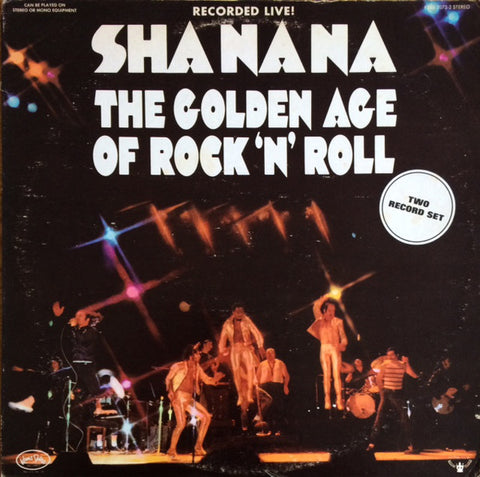 Sha Na Na ‎– The Golden Age Of Rock 'n' Roll - 2 lps - 1974 Rock N Roll (vinyl)no poster