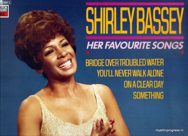 Shirley Bassey ‎– Her Favourite Songs
