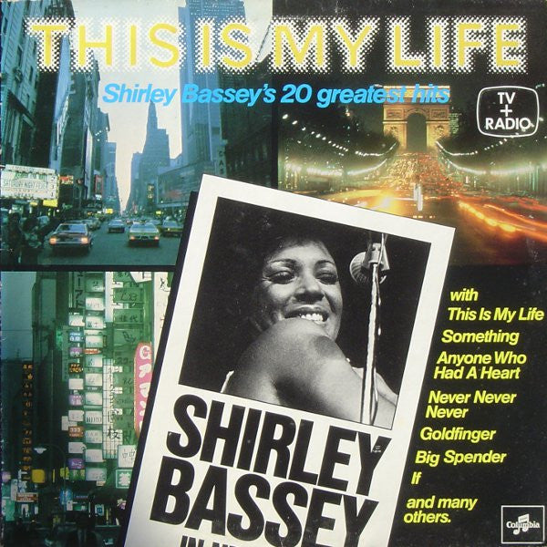Shirley Bassey ‎– This Is My Life - Jazz, Blues (vinyl)
