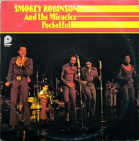 Smokey Robinson And The Miracles ‎– Pocketful - 1975  Funk / Soul (vinyl)
