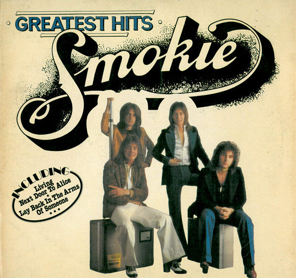 Smokie ‎– Greatest Hits Pop Rock -1977- (West German Vinyl)
