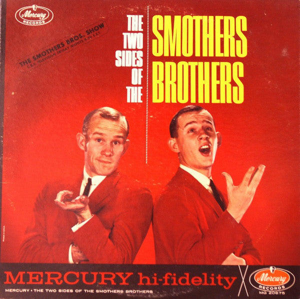 Smothers Brothers ‎– The Two Sides Of The Smothers Brothers -1962 - Comedy ,Folk (vinyl)