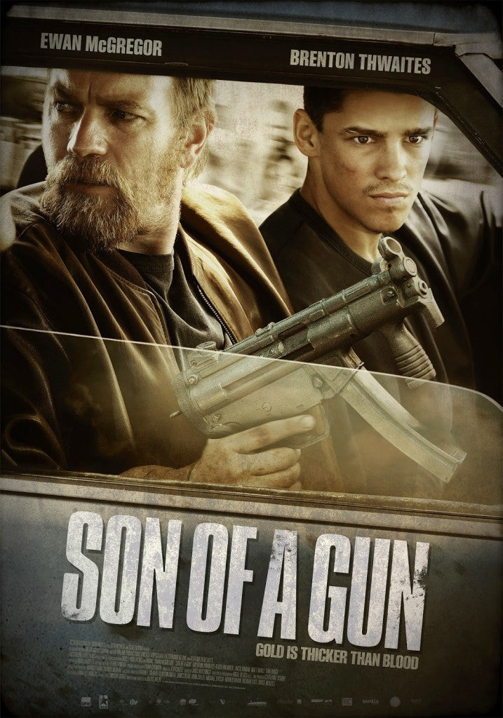 Son of a Gun 2015 DVD - Mint Used - Ewan McGregor