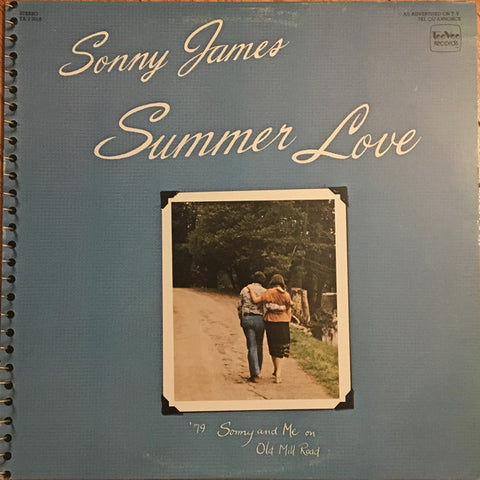 Sonny James ‎– Summer Love -1979 -  Pop, Folk, & Country (vinyl)