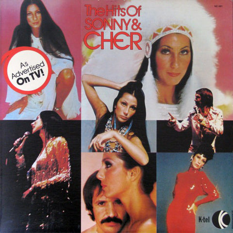 Sonny & Cher ‎– The Hits Of Sonny & Cher -1977- Folk Rock, Pop Rock (vinyl)Awesome selection of their songs !