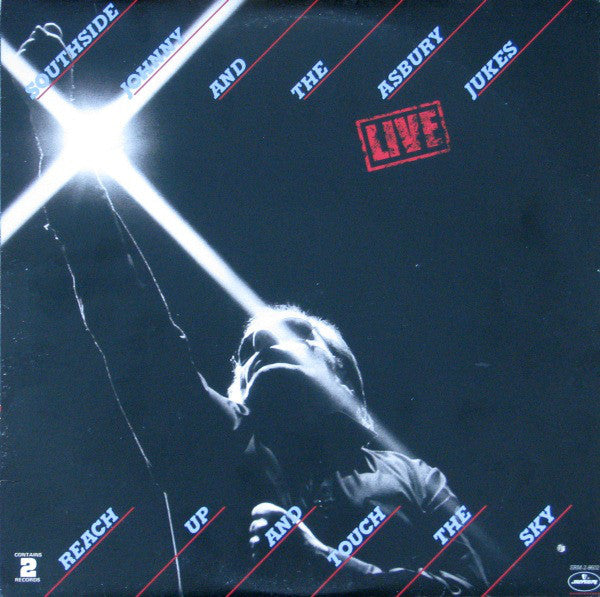 Southside Johnny And The Asbury Jukes ‎– Live - Reach Up And Touch The Sky (Clearance Vinyl) 1 of 2 lps on only