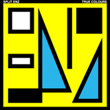 Split Enz -True Colours - 1980- Pop Rock - yellow cover ( Beautifully Etched Vinyl )