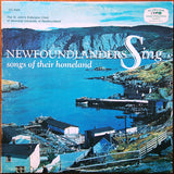 The St. John's Extension Choir Of Memorial University Of Newfoundland ‎– Newfoundlanders Sing Songs Of Their Homeland -1966-Newfoundland, Folk (vinyl)