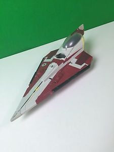 2001 LFL Hasbro Star Wars Red Vehicle R2D2 Ship Clone Wars C-022E