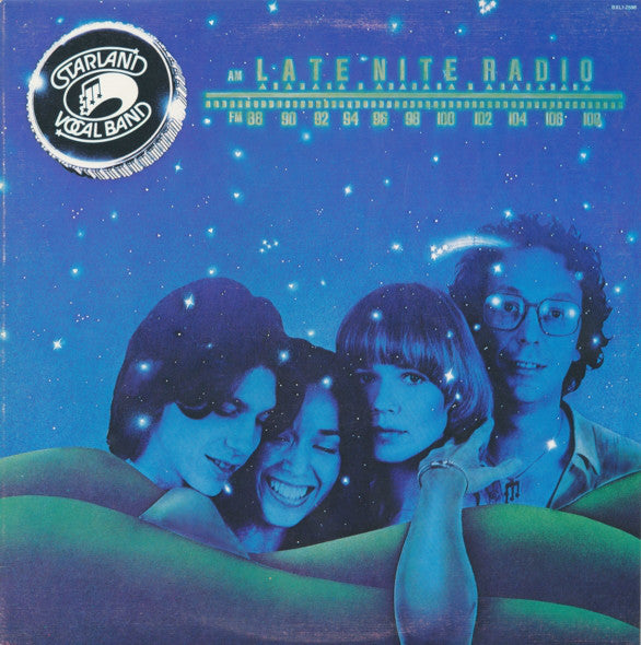 Starland Vocal Band ‎– Late Nite Radio -1978 Soft Rock (vinyl)