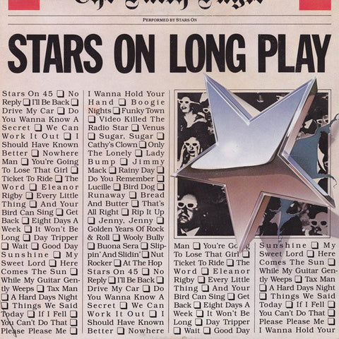 Stars On Long Play -Stars On* / Long Tall Ernie And The Shakers -1981 - Classic Rock (vinyl)