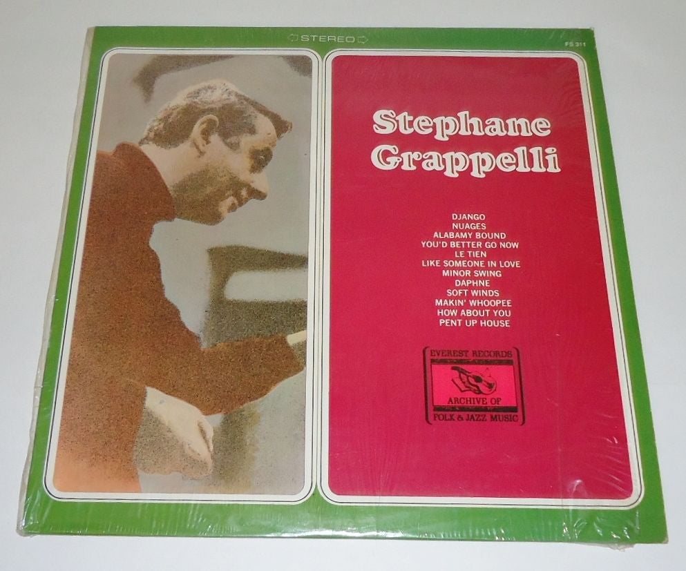 Stéphane Grappelli ‎– Stephane Grappelli