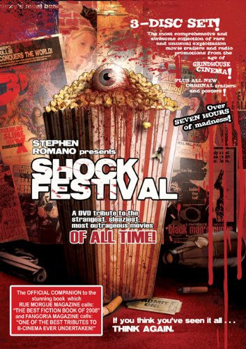Stephen Romano Presents Shock Festival [Import] 3 DVD Set ( Mint)