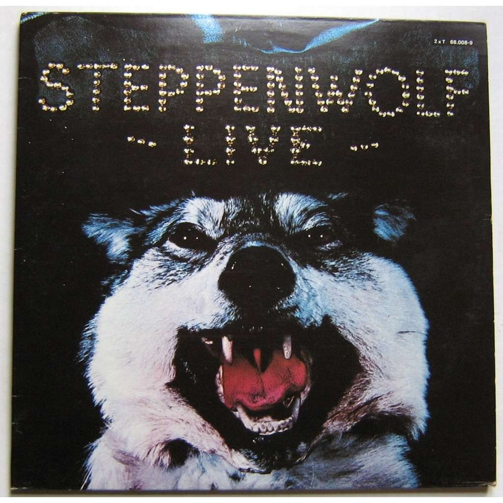 Steppenwolf ‎– Live Steppenwolf -1970 - Hard Rock, Classic Rock (2lps) (Clearance Vinyl)