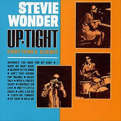 Stevie Wonder ‎– Up-Tight 1966 Funk / Soul (Clearance Vinyl) NO COVER - note conditon