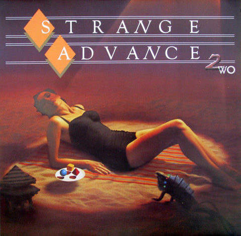 Strange Advance 2wo - 1985- Synth-pop ( clearance vinyl )Overstocked