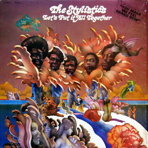 Stylistics, the ‎– Let's Put It All Together - 1974- Electronic, Funk / Soul (vinyl)Overstocked