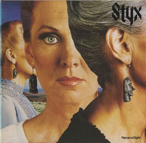 Styx - Pieces of Eight -1979  Canadian Release (CLEARANCE VINYL)